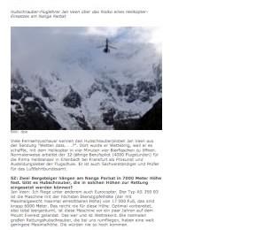 Juli 2008: Jetzt.de/Piloten riskieren ihr Leben