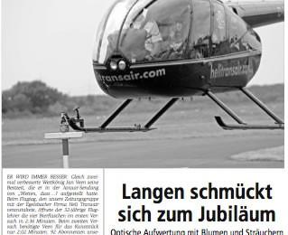 Mai 2008: Offenbach Post, Zeitungsartikel
