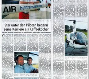 Mai 2007: Offenbach Post, Zeitungsartikel