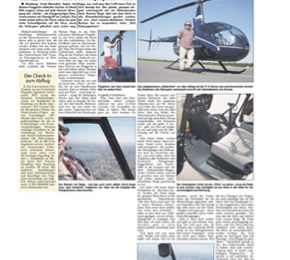August 2006: Hamburger Abendblatt/Nordexpress