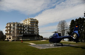 Helipad Hubschrauber Landeplatz